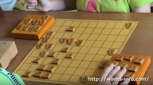 子供将棋教室の風景
